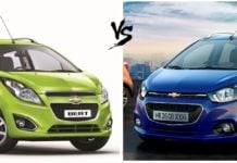 chevrolet beat old vs new comparison