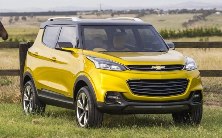 chevrolet cars at auto expo 2018 new small suv