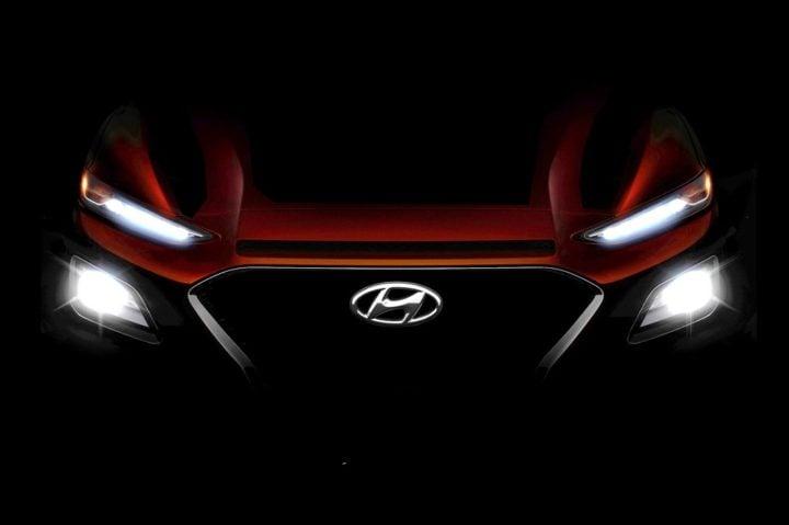 hyundai cars at auto expo 2018 hyundai kona teaser image