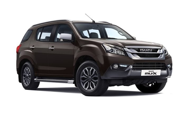 Best Mileage Automatic Cars - Isuzu MU-X Automatic