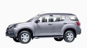 isuzu mu x india images colours silver metallic
