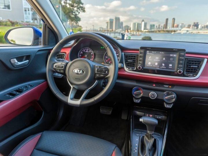 kia rio price in india images interior steering wheel