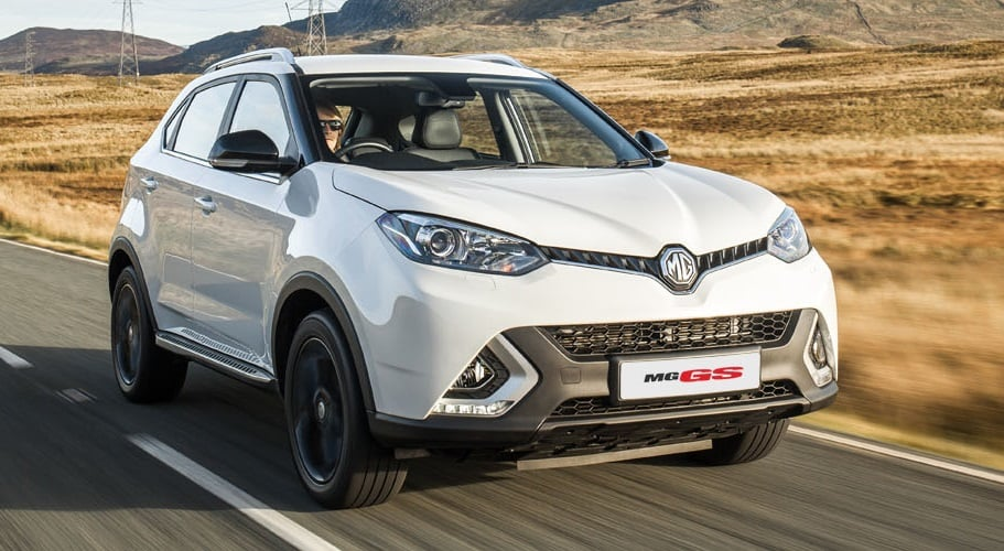 mg cars india mg gs suv