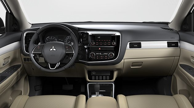 mitsubishi outlander india 2017 interior