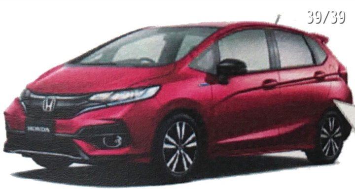 Upcoming Cars under 10 Lakhs - Honda Jazz facelift