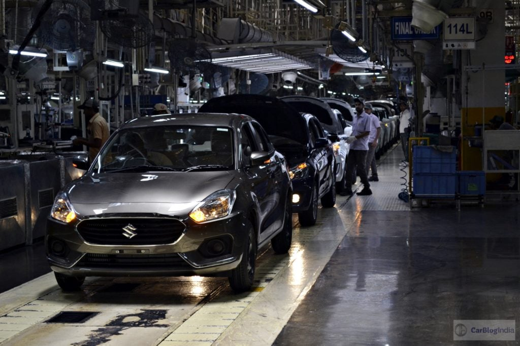 maruti manesar plant doc India business news: shares of maruti suzuki india rose by nearly 4 per cent on the bourses today after the 14-day-long strike at the company's manesar's plant was called.