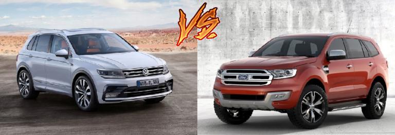Volkswagen Tiguan vs Ford Endeavour [COMPARED!]