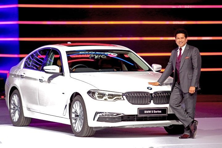 2017 BMW 5 Series India Launch Official Image