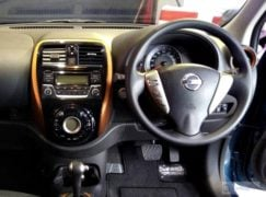 2017 nissan micra facelift dashboard image steering wheel