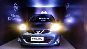 2017 nissan micra facelift images front
