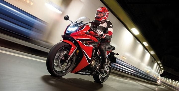 Upcoming New Honda Bikes - Honda CBR650F
