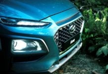 2018 hyundai kona suv images front angle bumper headlight