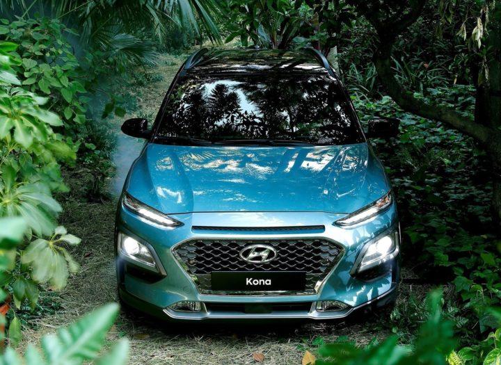 Hyundai Kona SUV India - Images Front Top