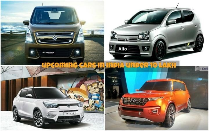 Upcoming cars under 10 lakh image