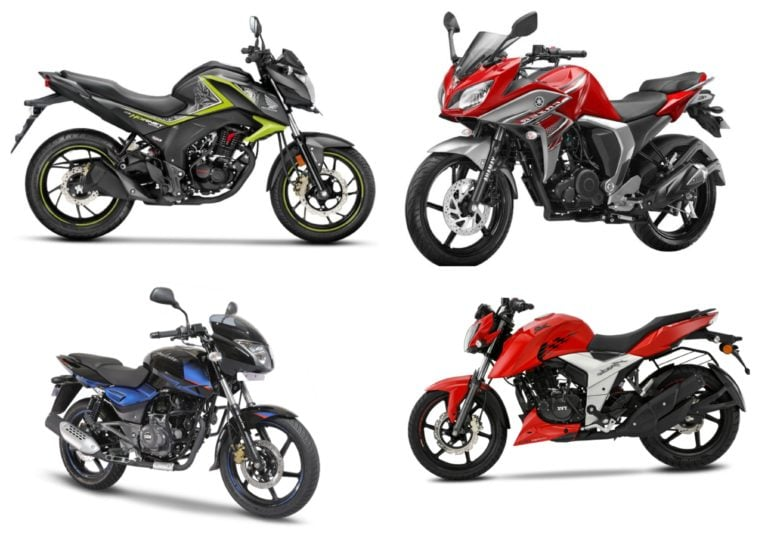 Best 150cc Bikes in India 2018 Price, Mileage, Features, Specs