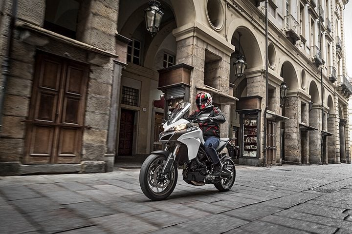 Ducati Multistrada 950 India - One-up riding