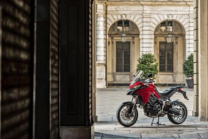 Ducati Multistrada 950 India in Ducati Red