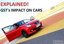 GST Impact Car Prices - gst affect car price