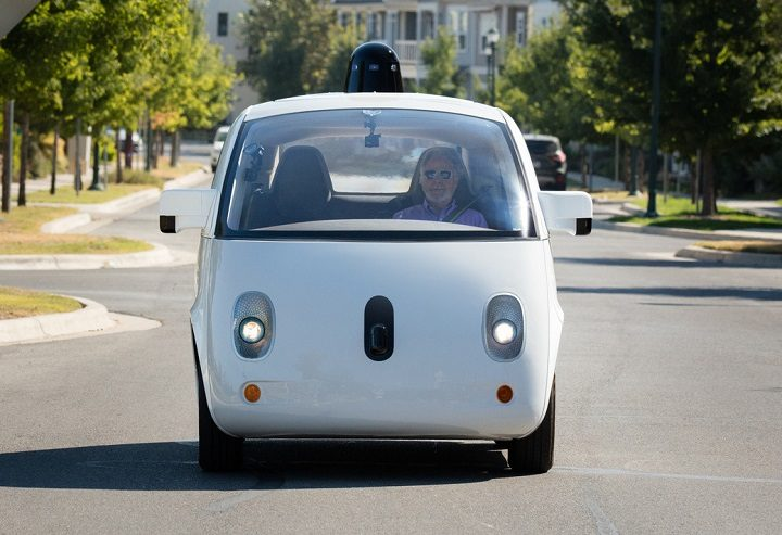 Apple car rival - Google self-driving car