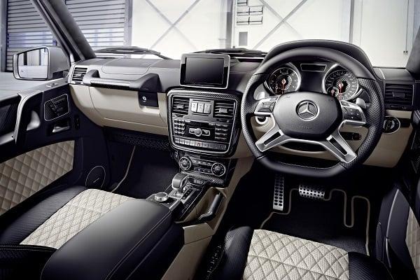 Mercedes G63 AMG Edition 463 Interior Dashboard