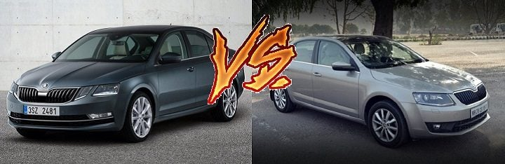 New 2017 Skoda Octavia vs Old Model