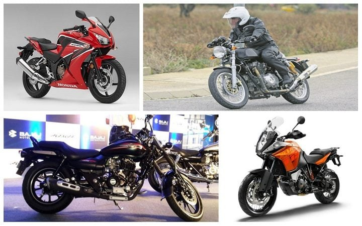 Upcoming Bikes in India 2017-2018