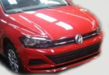 Volkswagen Virtus India Front Angle Spy Images