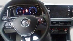 Volkswagen Virtus India Interior Instrument Cluster Spy Images