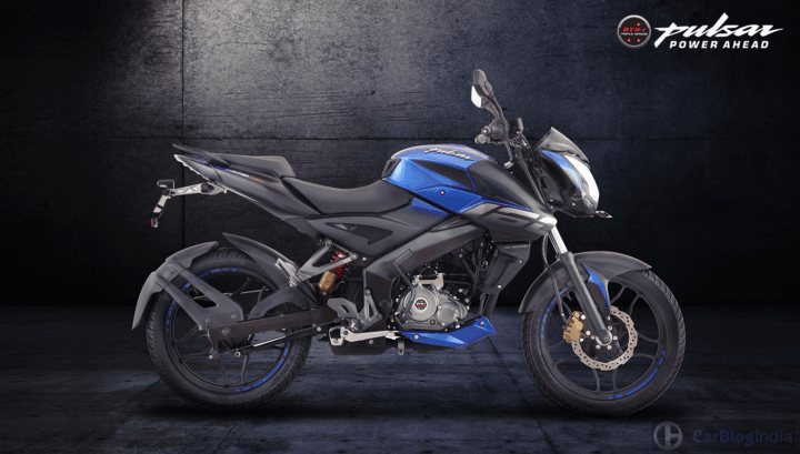 bajaj pulsar ns 160 images side