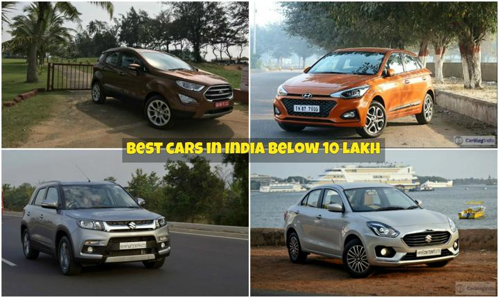 Best cars to buy in india below 10 lakhs 12