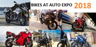 Bikes at Auto Expo 2018
