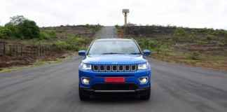 jeep compass india images front