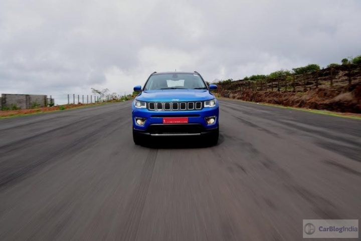 jeep compass india images front action
