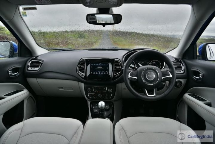 Jeep Compass vs Hyundai Creta - Jeep Compass Interior