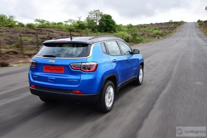 Jeep Compass vs Hyundai Creta - Jeep Compass