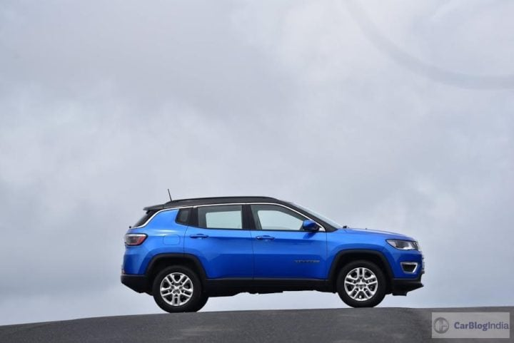 jeep compass india images side profile