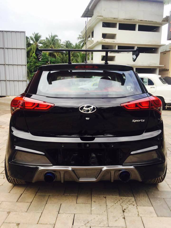 Modified Hyundai Elite I20 Images 3
