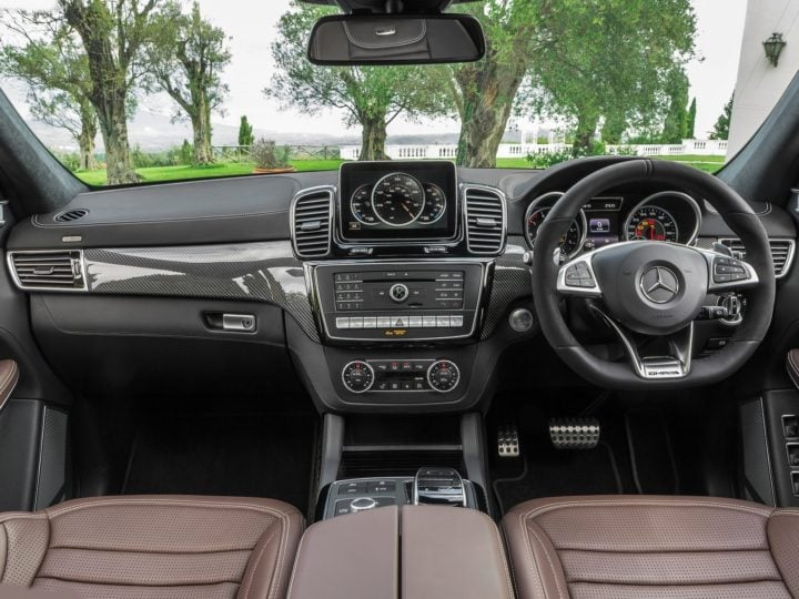 new Mercedes GLS63 amg india interior