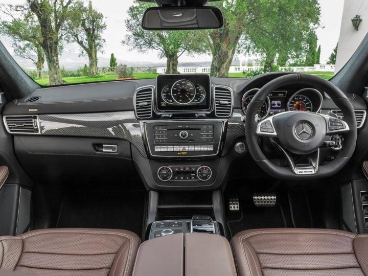 new Mercedes GLS63 amg india interior