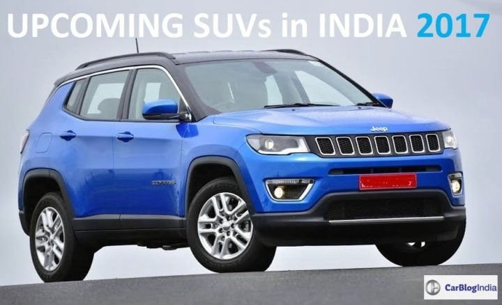 Upcoming SUVs in India 2017