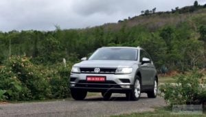 volkswagen tiguan test drive review images action cornering