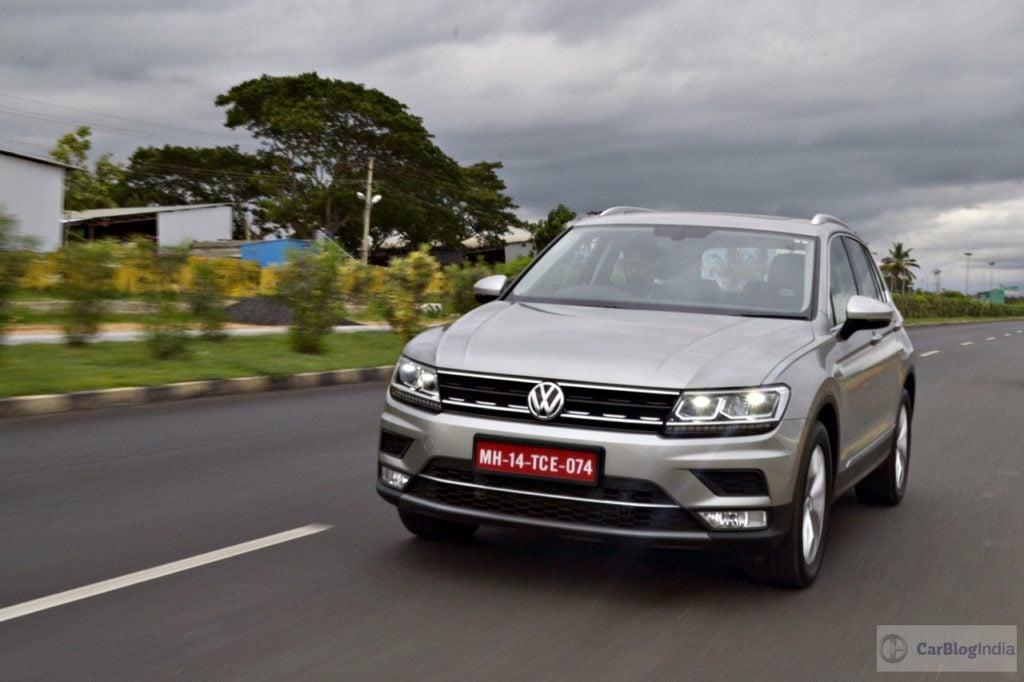 Volkswagen Tiguan, one of the closest Hyundai Kona competitors