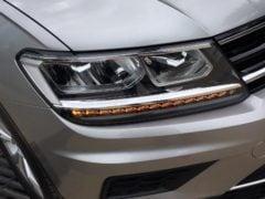 volkswagen tiguan test drive review images front headlight