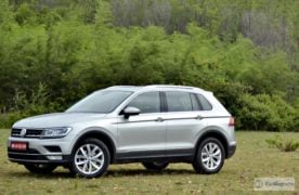 volkswagen tiguan test drive review images side profile