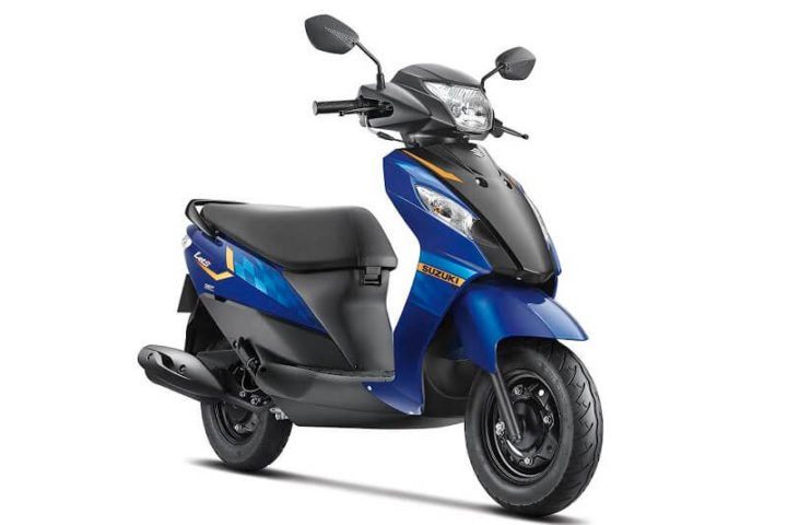 2017 Suzuki Let's Scooty Images