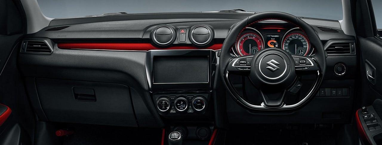 2017 Suzuki Swift Sport Images Interior Carblogindia