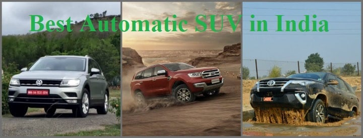These are the Best Automatic SUVs In India!