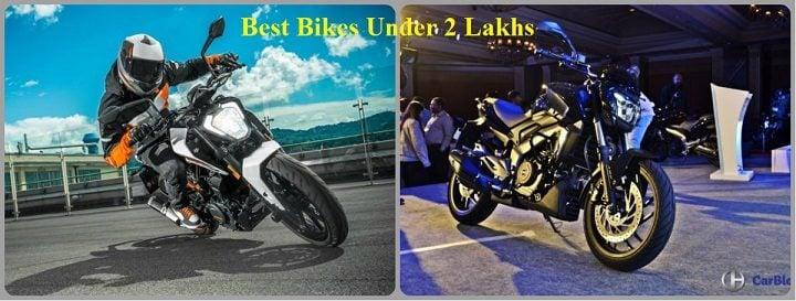 Best Bikes Under 2 Lakhs