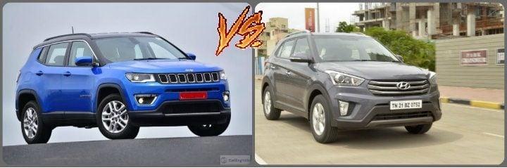 Jeep Compass vs Hyundai Creta