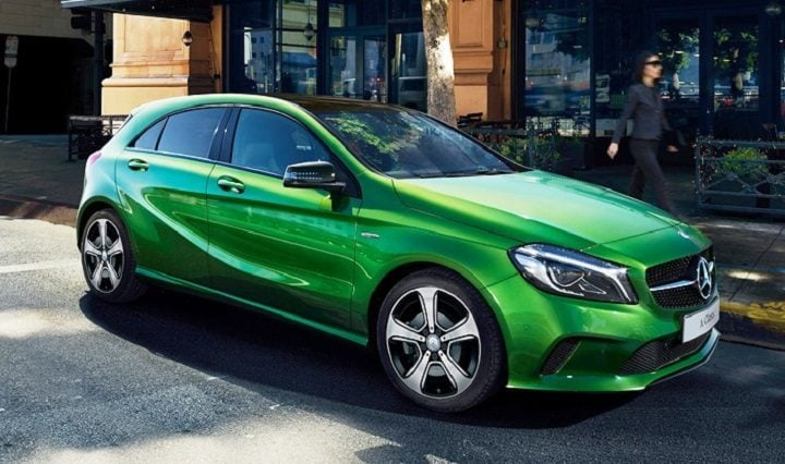 Best Mileage Automatic Cars - Mercedes-Benz A-Class
